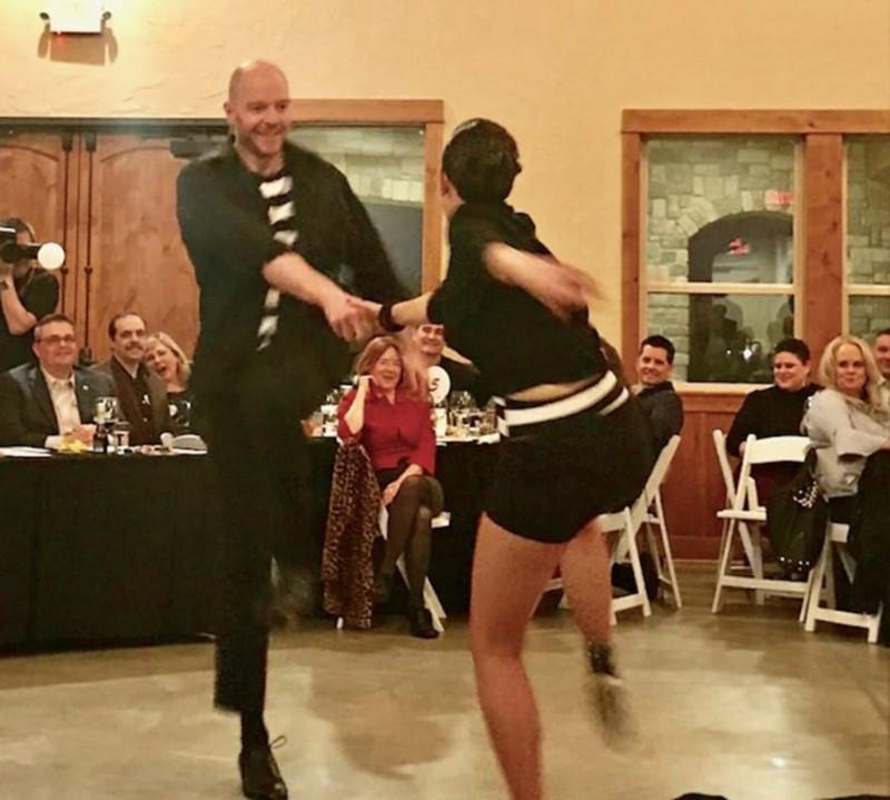 Local stars dance for Rotary fundraiser